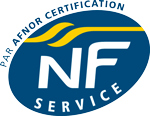 Logo AFNOR Certification NF Service